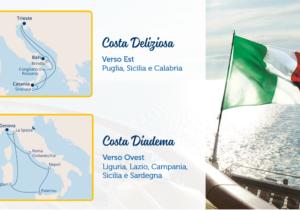 Costa crociere riparte dall'Italia